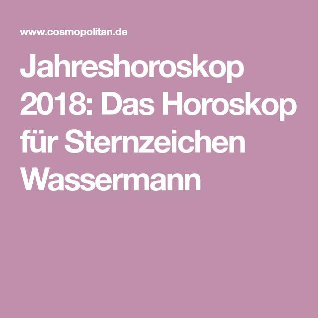 Jahreshoroskop 2018: Das Horoskop für Sternzeichen Wassermann