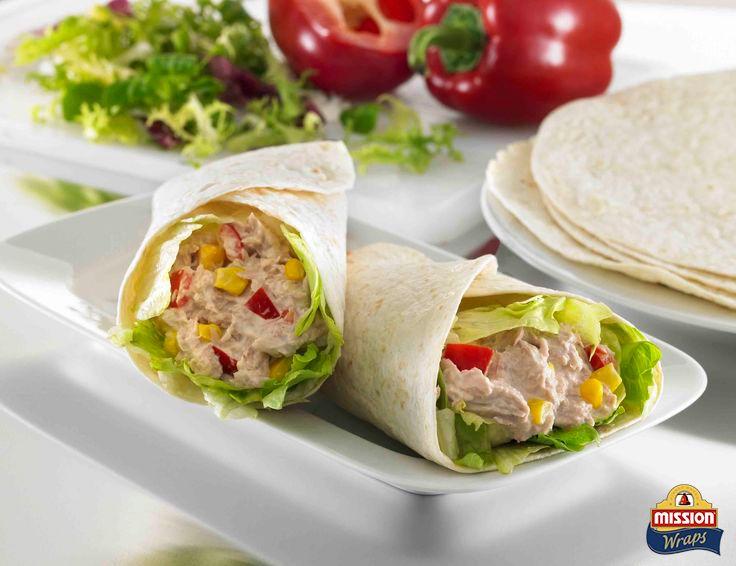 #missionwraps #wraps #food #inspiration #meal #salad #tuna #healthy #snack #lunch www.missionwraps.es