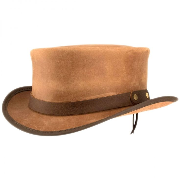 Head 'N Home Marlow Leather Top Hat Top Hats
