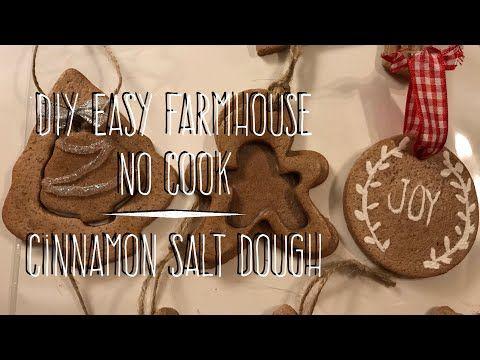 (1) DIY EASY NO-Cook Cinnamon Salt Dough – YouTube