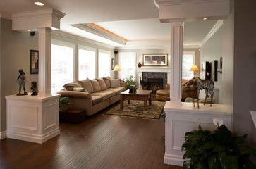 family room living room den. living room and family room living