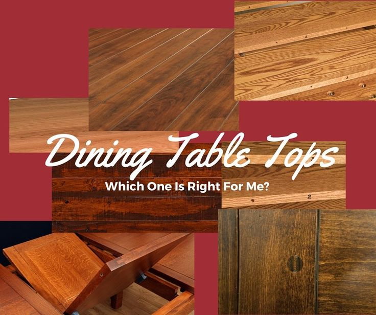 Dining Table Tops   Expansion And Planks. Amish FurnitureDining ...