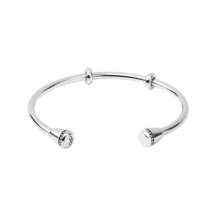 Narrative Sterling Silver Charm Cuff   Women Bracelets   Links of London