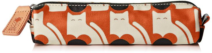 Orla Kiely Poppy Cat Print Pencil Case Pouch >>> Learn more by visiting the image link. (This is an Amazon Affiliate link and I receive a commission for the sales)