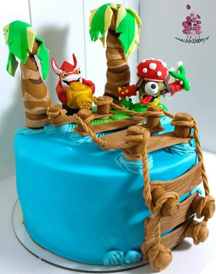 How To Make A Castle In The Sky Birthday Cake