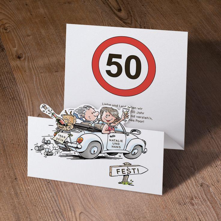 Witzige Einladungskarten Mit Ausgefallener Falzung U0026 Stanzung Online  Bestellen!