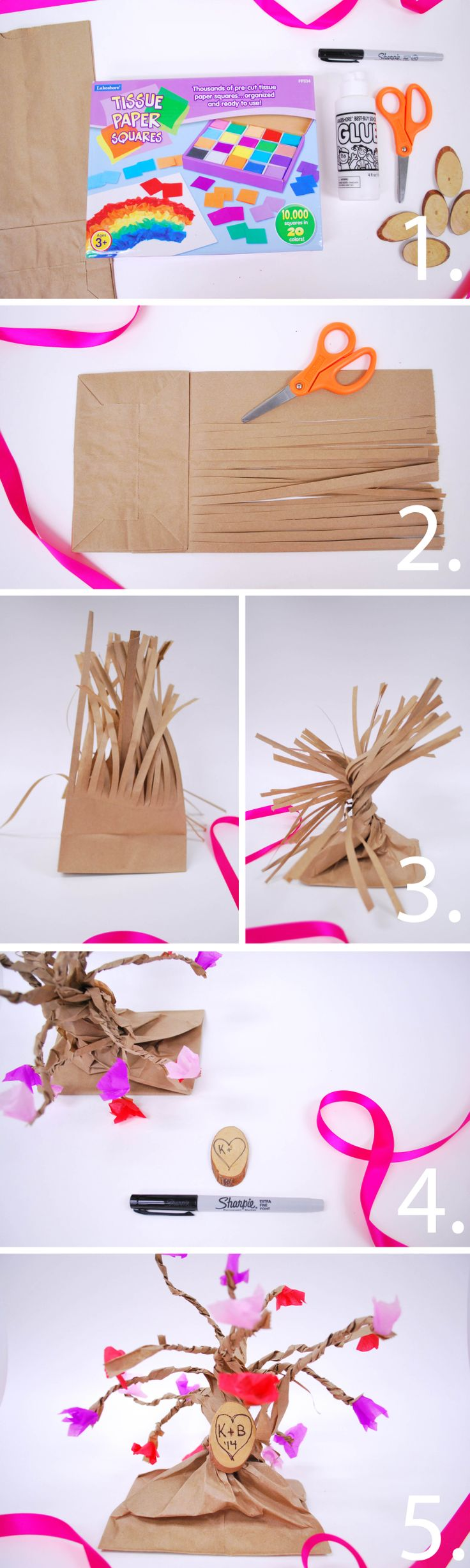 17 Best Images About Paper Lunch Bag Crafts On Pinterest