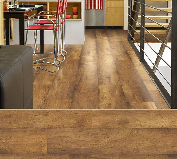 Wood Floor Colors Hardwood Floors And Wood Flooring: Shaw Laminate In Style Landscapes Color Eastlake Hickory