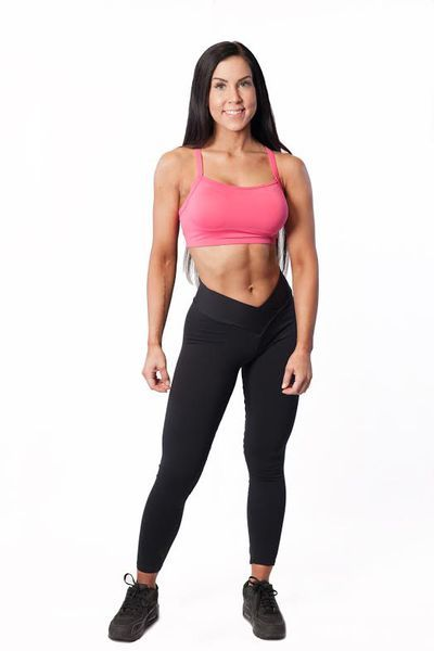 V-waist leggings