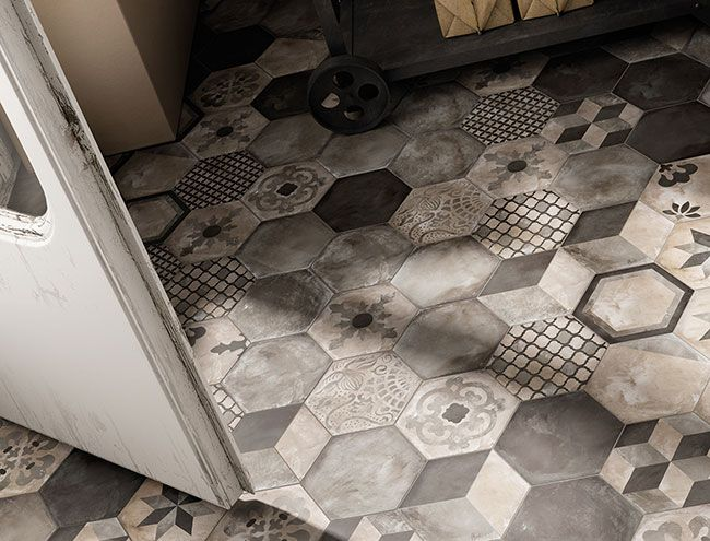 Our brand new Illustrate range, which features plain tiles in a range of chalky neutrals, but also a whole host of these fabulous patterns!