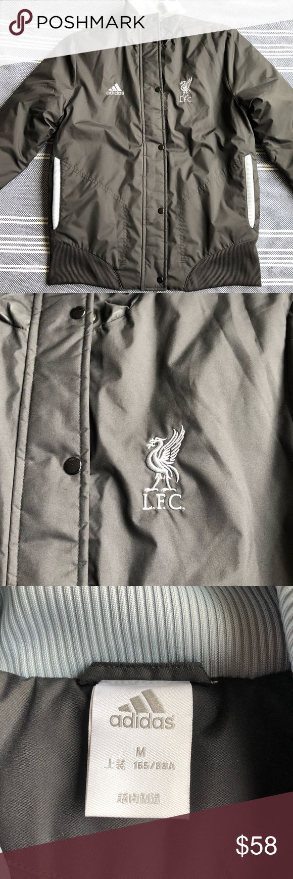 Youth Liverpool FC jacket Perfect condition, Youth medium Adidas Liverpool FC jacket. adidas Jackets & Coats