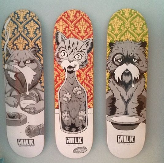 Loving these purrrfect deck designs
