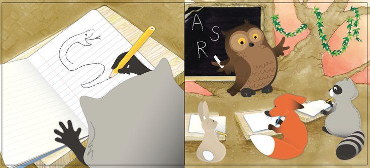 Illustration, Sandviks - Children's Book