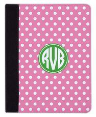 Bubblegum Polka Dot iPad Cover