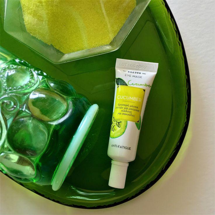 Cucumber Anti-fatigue Eye Mask