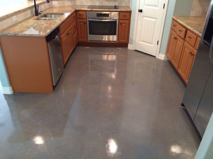 indoor concrete stain