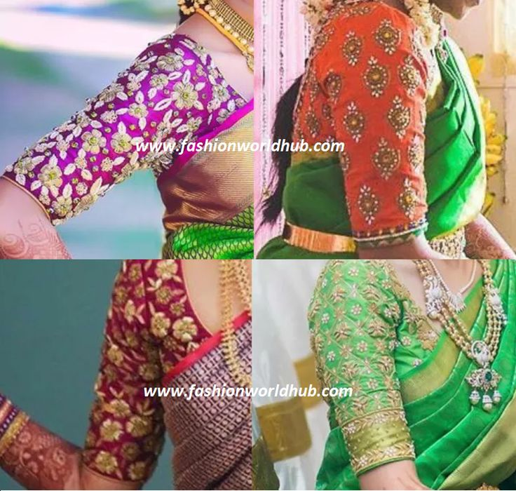 Latest Maggam work blouse designs 2016 | Fashionworldhub