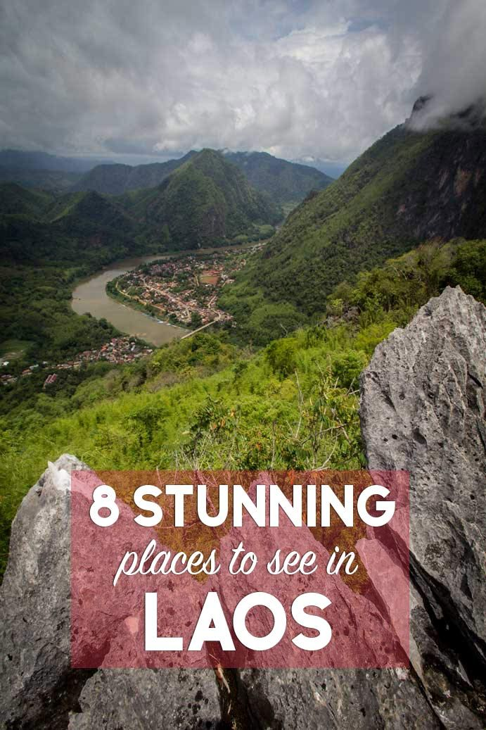 8 of the most stunning places to see in Laos! Numbe