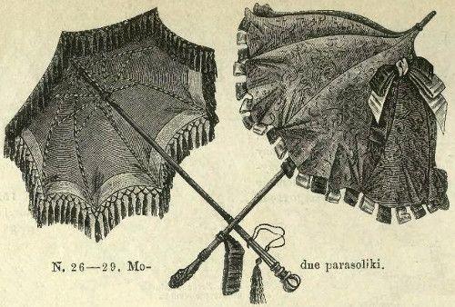 Parasolki, 1877   Parasols, 1877