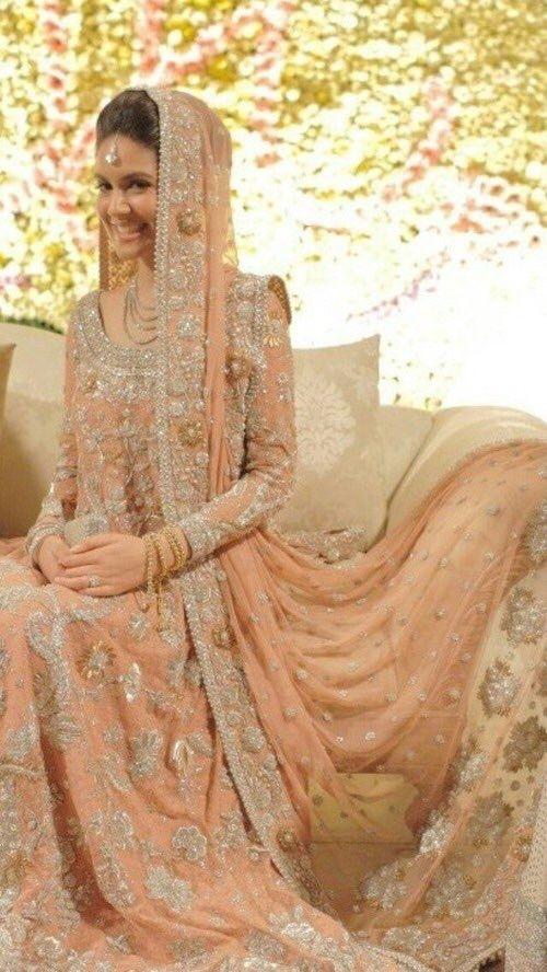 Image via We Heart It #asian #beautiful #bride #dress #fashion #wedding #woman #pakistani