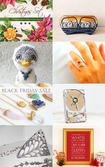 My duck was added to November 25 Finds by Christie on Etsy
