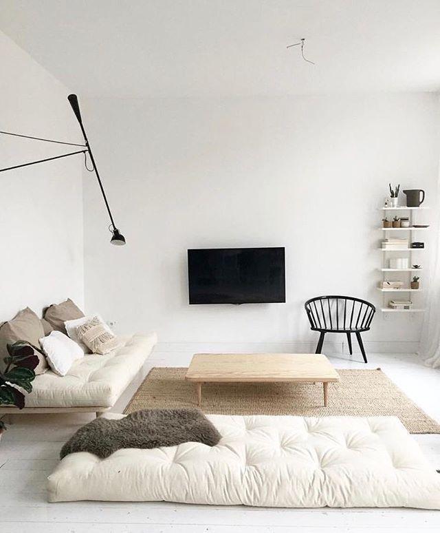 Minimal Minimalist Living Room Ikea
