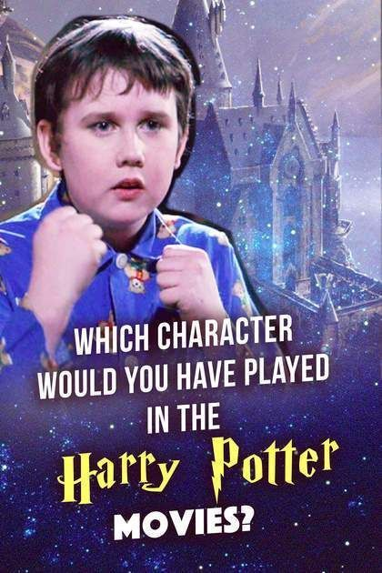 Quiz: Which Character Would You Have Played In The Harry