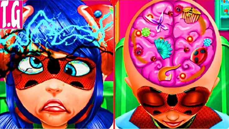 Ladybug Brain Doctor— GAMES FOR KIDS.  HD 1080p