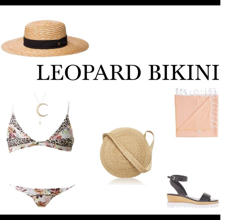 Whether you are planning a summer holiday locally or a getaway to a warmer location overseas, this is what you want to be wearing on your summer getaway.  #leopardbikini #bikini #swimsuit #vacationstyle #summerstyle #leopardbikinioutfit #leopard #holidaystyle