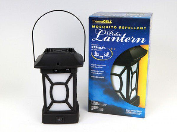 Mosquito Repellent Patio Lantern And Portable Unit From ThermaCELL