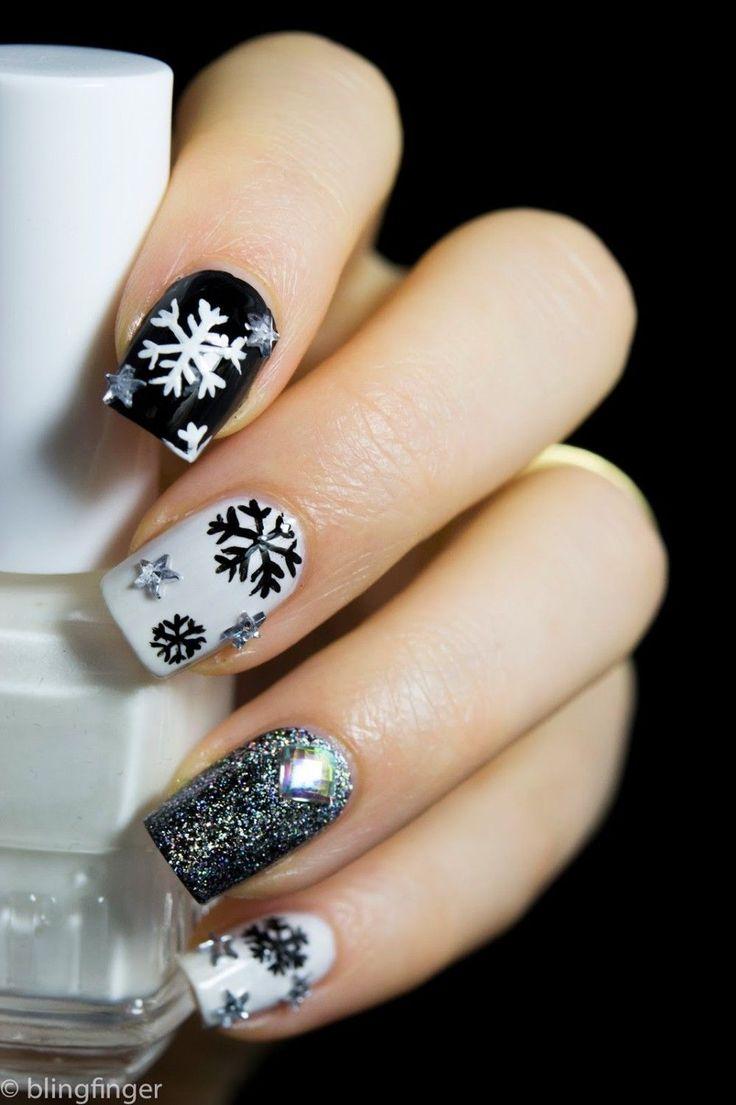 Diseños de Uñas para el Invierno 11                                                                                                                                                                                 Más
