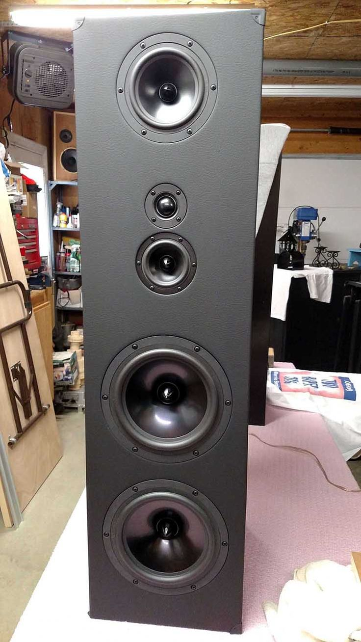 Designer: Mike P Project Category: Tower Speakers Project Level: Intermediate Project Time: 20+ Hours Project Cost: $500 – $1,000 Project Description: The Mavericks – 5 driver, 4-way fl…