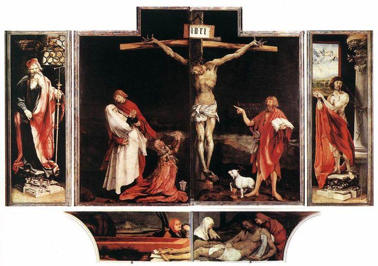 Crucifixión de Grunewald