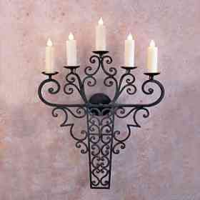 1000 images about candelabros on pinterest wall sconces - Candelabros para pared ...