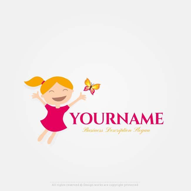 Free Logos Creator – Create online Girl Logo Designs