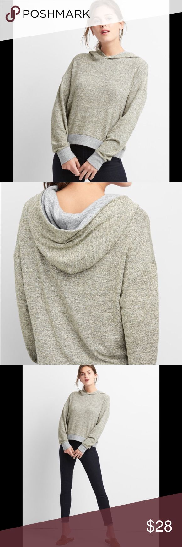 "🆕 GAP soft Spun Metallic Hoodie ! 🌺 GAP ! Soft spun metallic hoodie ! Soft jersey knit ! Dropped shoulders ! Long sleeves ! Hooded neckline ! Banded rib knit cuffs and hem ! Metallic detailing throughout ! Color "" Heather Grey "" ! I Love mine ! 5⭐️ On GAP ! 🌺 GAP Tops Sweatshirts & Hoodies"