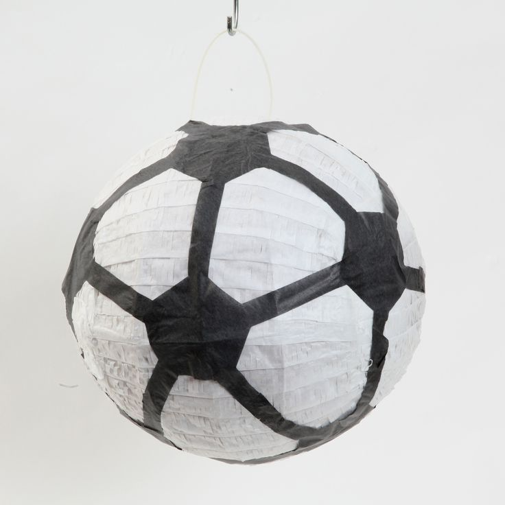 Soccer Ball Pinata | Sports themed party Supplies available at www.buildabirthday.co.nz