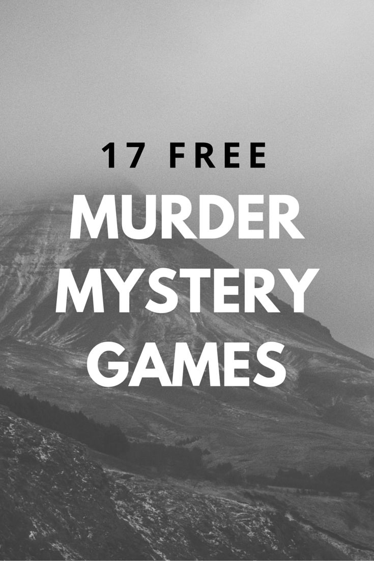 Throw the perfect murder mystery dinner or party with these free murder mystery games that include scripts, characters, and clues. Everything you need is here, all you need are your guests.