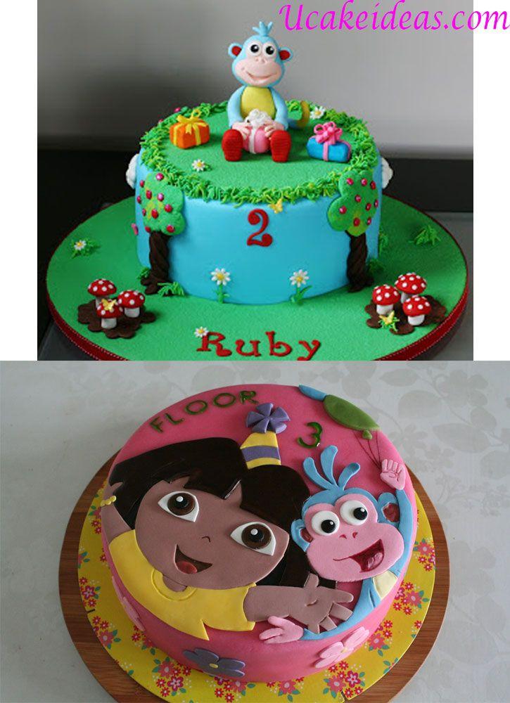 Adventurous Dora Cake Ideas, Dora And Boots Cake Ideas