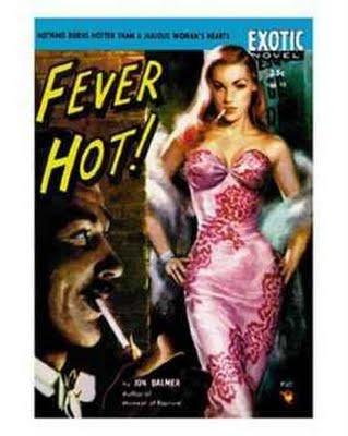 . #vintage #pulp #fiction #bookcover #art