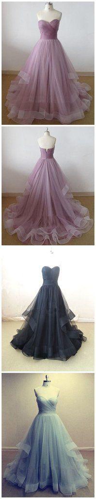 Lilac Prom Dress,Sweetheart Prom Dress,A-line Dress ,Cheap Prom Dress,Party Prom Dresses ,Evening Dresses,Long Organza Prom Dress,Prom Dresses Online,PD0125