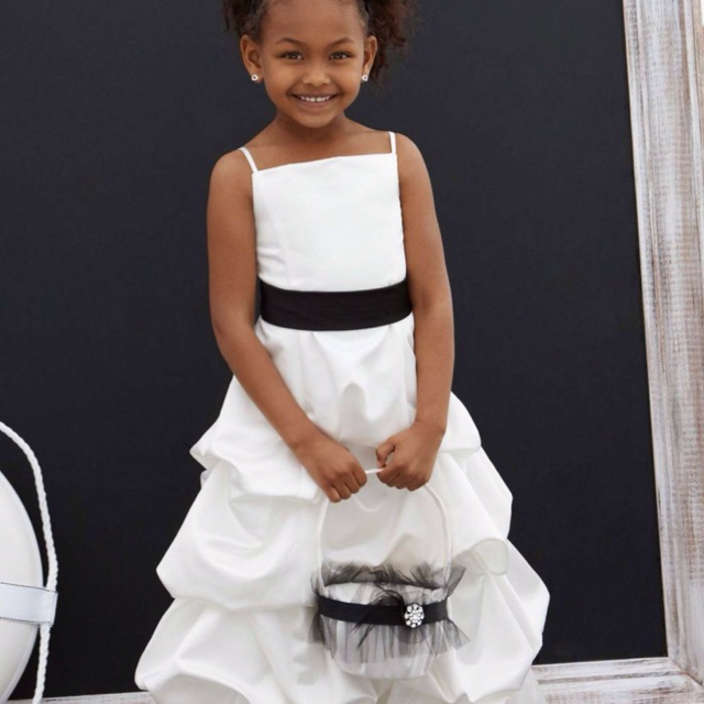 Flower Girl Jersey Davids Bridal : David s bridal flower girl dress wedding day ideas