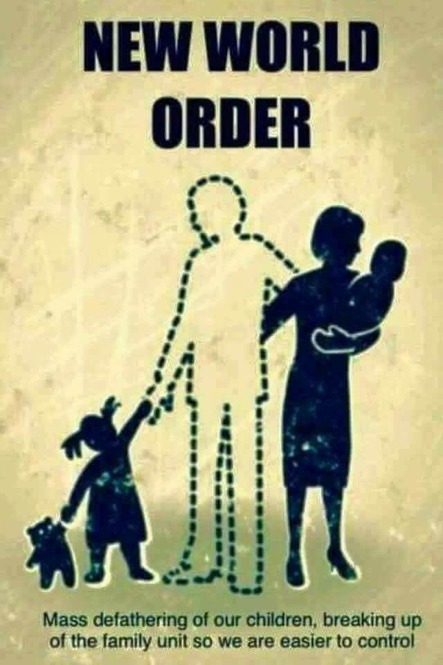 This has always been the agenda when you destroy the head the body will fall.They designed this for us specifically Wake Up Judah take back your homes.Be a Husband and Dad to your Wife and Children.