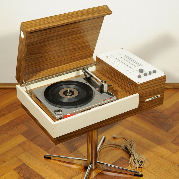 Telefunken Rondo Record Player, Seventies