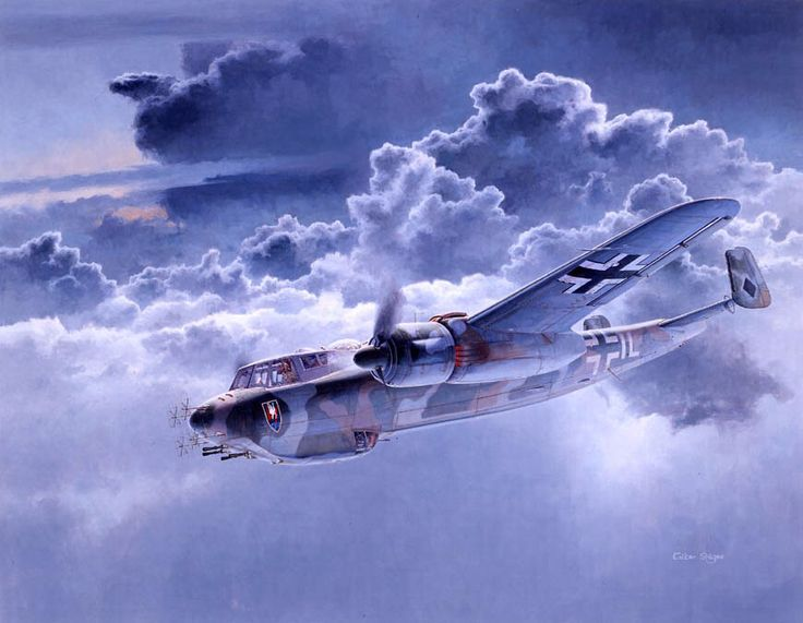 Image result for paintings dornier 217