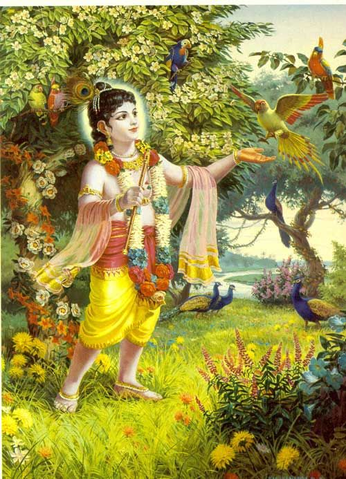 """Just drop all that is bothering you. If you are not free today, you can never be free anytime. Don't expect freedom to come to you. """"Today, I am free! Everything is going to happen the way it is going to happen.""""    Photo: Lord Krishna"""