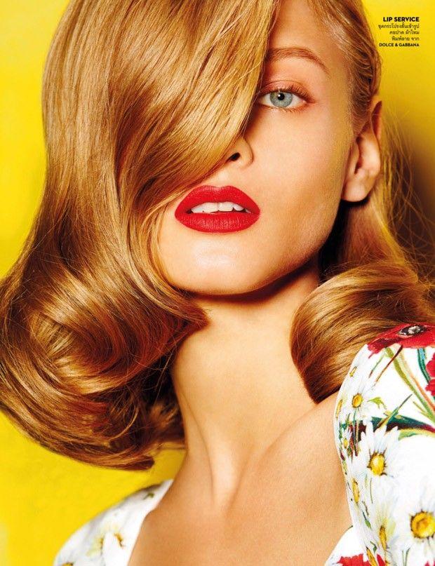 Анна Селезнева в Vogue Thailand (Интернет-журнал ETODAY)
