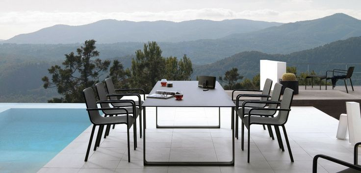 Outdoor Patio Ideas Round white outdoor table1