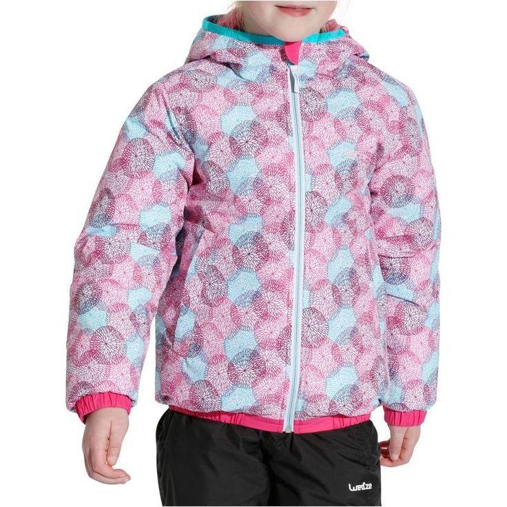 SKI SNOWBOARD LUGE Ski, Snowboard - VESTE SKI FILLE WARM REVERSE WED'ZE - Vêtements de ski enfant