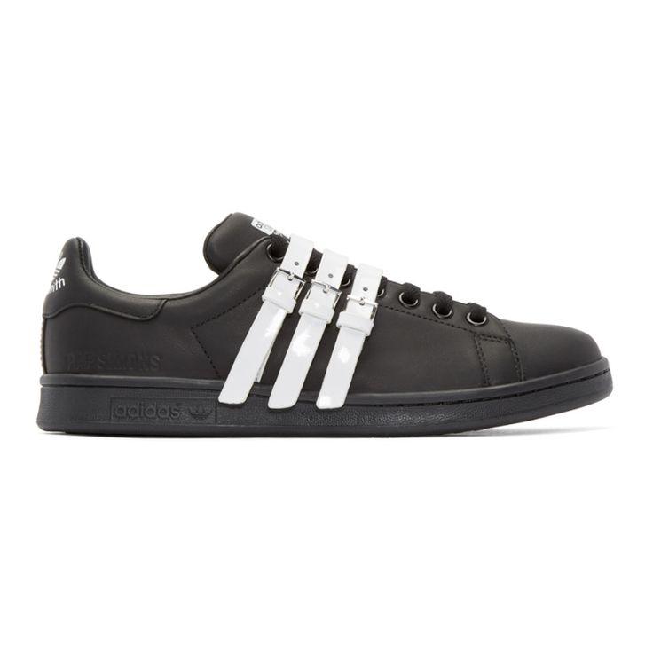 Raf Simons - Black & White Stan Smith adidas by RAF SIMONS Sneakers